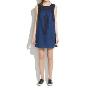 Madewell Mercado Shiftdress in After Dusk